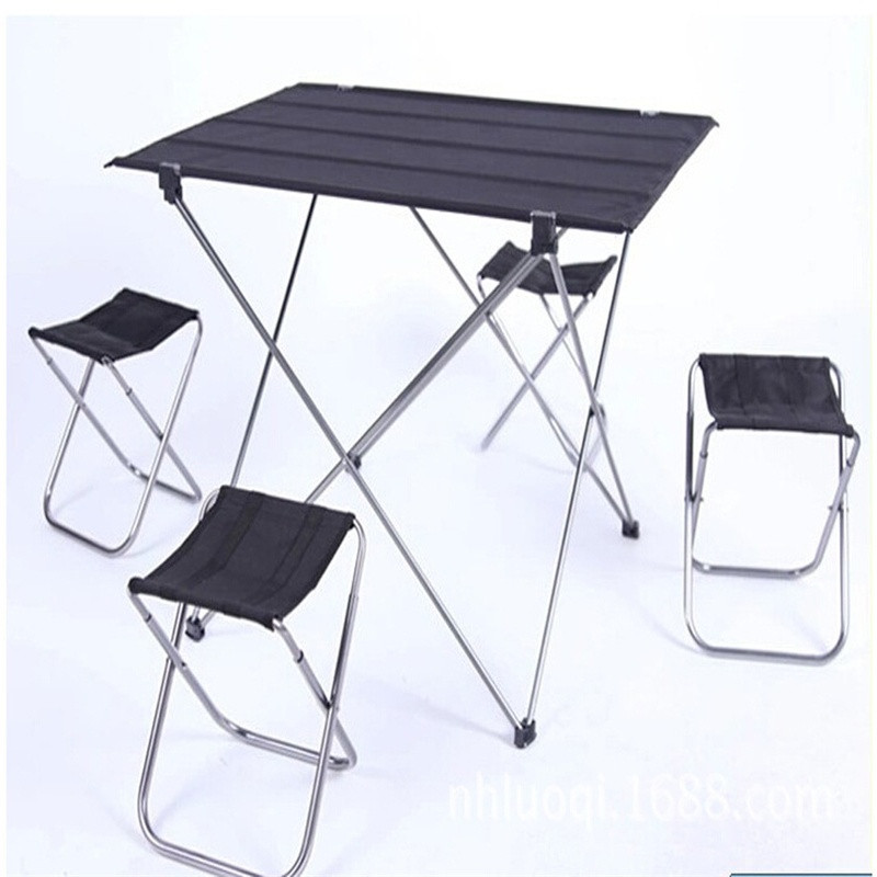 Outdoor Camping Folding Table Garden Beach Picnic Aluminium Alloy Foldable Picnic Table Outdoor Portable Ultralight