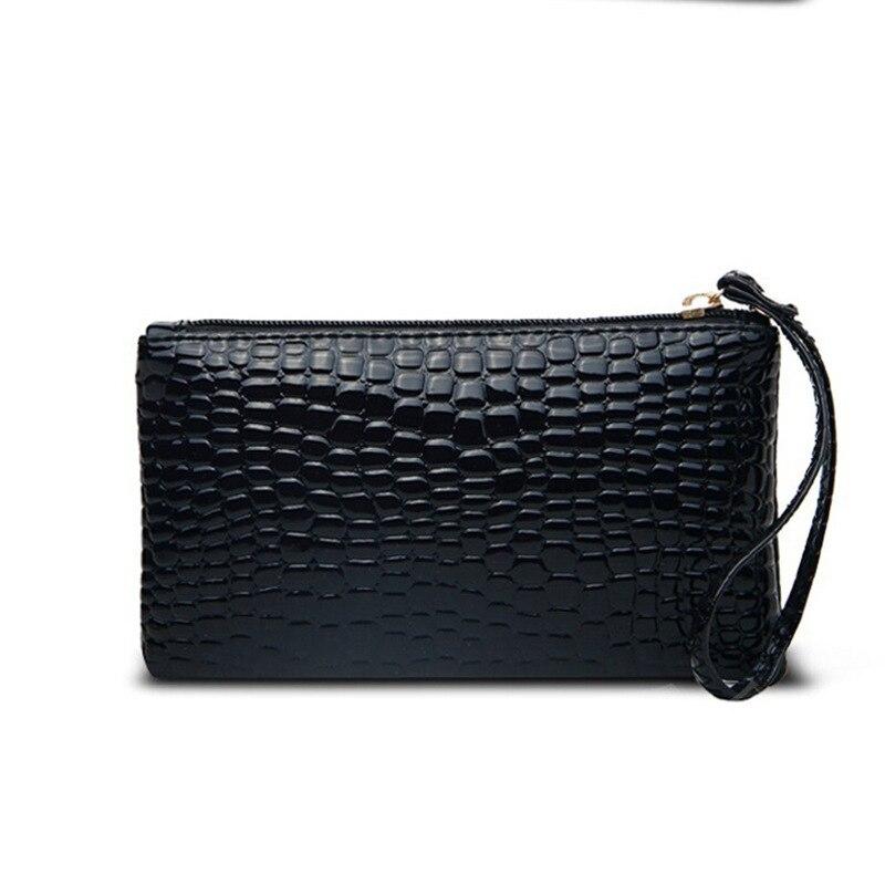 2019 New Coin Purses 1pc Portable Women PU Leather Clutch Handbag Bag Coin Purse Girl's Alligator Purse Wallet Female Handbags