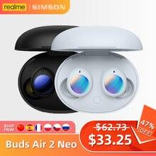 Realme Nụ Air 2 Neo TWS ANC Tai Nghe Nhét Tai Bluetooth 5.2 Dual Mic Noice Hủy Cuộc Gọi Cảm Ứng Điều Khiển Thông Minh R2 chip