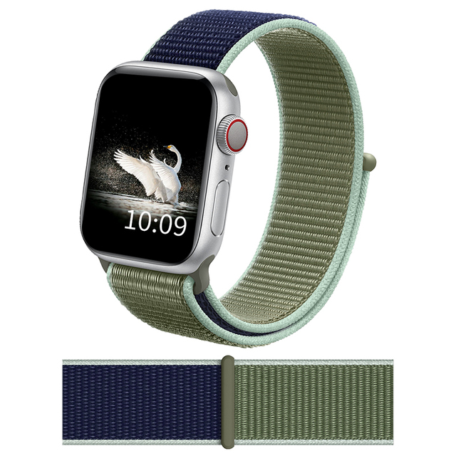 DIMU Band For Apple Watch Series 5/4/3/2 38mm 42mm Nylon Soft Breathable Replacement Watchband For iWatch Sport Strap 42mm 44mm | Watchbands