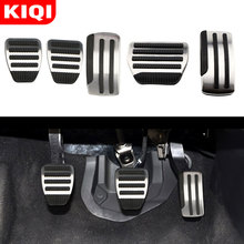 Pedals-Pedal-Cover Qashqai J10 Nissan X-Trail Car-Gas-Brake Stainless-Steel for Teana