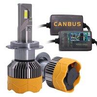 HAOSJ CANBUS LED H7 Car Headlight H4 H11 12V 72W 6000K 16000LM 9006 HB4 LED H1 H3 Car Bulb
