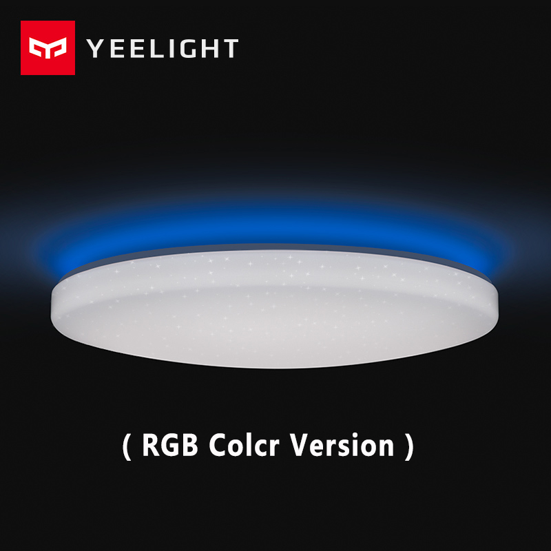 Xiaomi mi Yeelight Led ceiling Pro 650mm RGB work to mi home app and google home