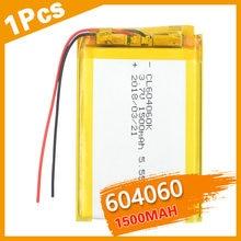 604060 3,7 V литий-полимерный аккумулятор 1500 mah большой емкости аккумуляторные батареи для косметического и массажного инструмента Li-Po Cell