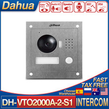 Dahua Intercom VTO2000A-2-S1 2-Wire IP Villa Outdoor Station Dual-way Bidirectional Talk Built-In Mic/Speaker Color Image DC24V