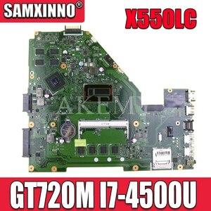 X550LC материнская плата GT720M I7-4500 CPU для For Asus X550LC X550LD A550L Y581L W518L X550LN материнская плата для ноутбука X550LC материнская плата