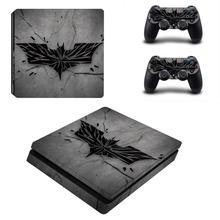 Batman PS4 Slim Skin Sticker Decal Cover Vinyl for Playstation 4 DuslShock 4 Console & Controller PS4 Slim Skin Sticker