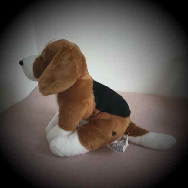 2019 น่ารัก Beagle Dog สุนัขสีขาว Plush ของเล่นจำลอง GIANT Squid ตุ๊กตาตุ๊กตาของเล่นตุ๊กตาสัตว์น่ารักตุ๊กตาสำหรับของขวัญเด็ก