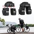 Водонепроницаемая сумка на плечо для велосипеда 3 в 1 многофункциональная задняя Сумка для велосипеда велосипедная сумка для сидения велос...