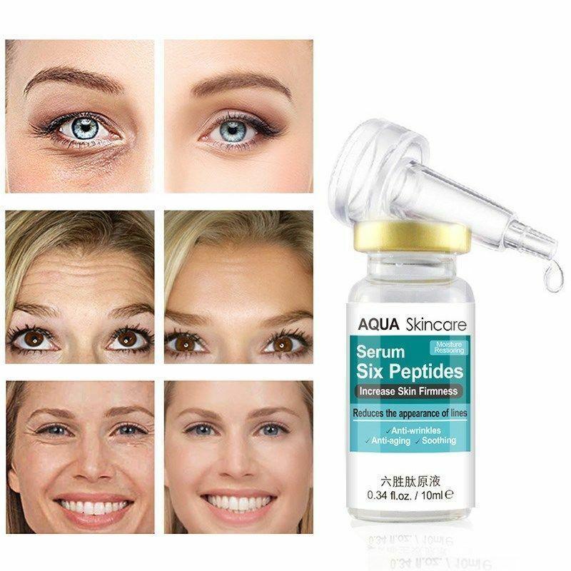 Facial Cream Anti-Wrinkle Firming Collagen Liquid Anti-aging Skincare Hot Serum Hexapeptide
