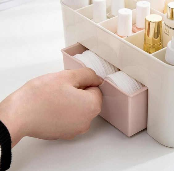 Home Makeup Cosmetic Case Beauty Artist Box Storage Bin Tool Brush Bag Organizer Hot