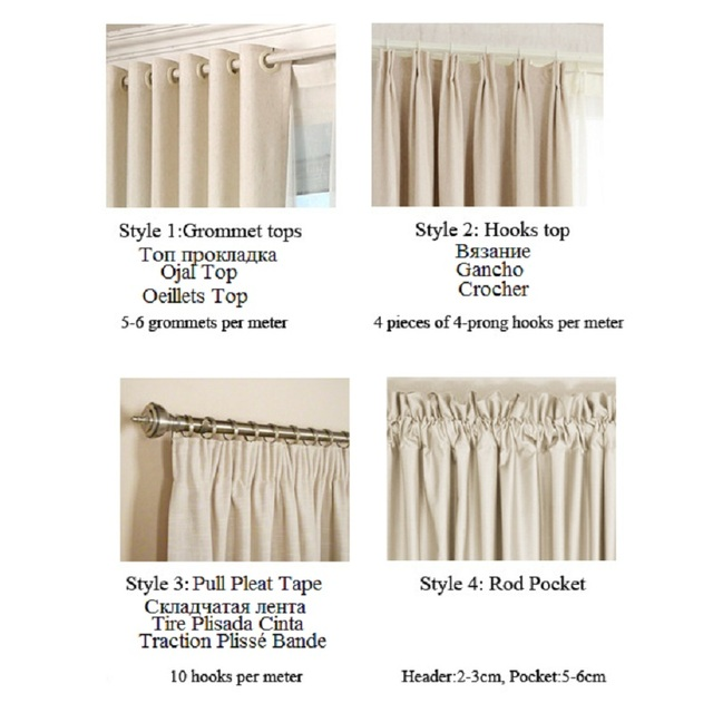 Curtains for Windows Drapes 5