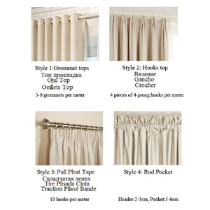 Image 5 - 1 pc New Curtains for Windows Drapes European Modern Elegant Noble Printing Shade Curtain For Living Room Bedroom