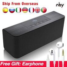 Nby 5540 kablosuz taşınabilir Bluetooth hoparlör FM radyo Sub Woofer hoparlör 3D Stereo Boombox bilgisayar bas çift hoparlörler TWS