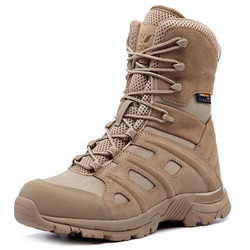 Outdoor Sports Tactical Camping Lace Up Shoes Men's Boots Climbing Breathable Lightweight Mountain Boots Hiking Sneakers