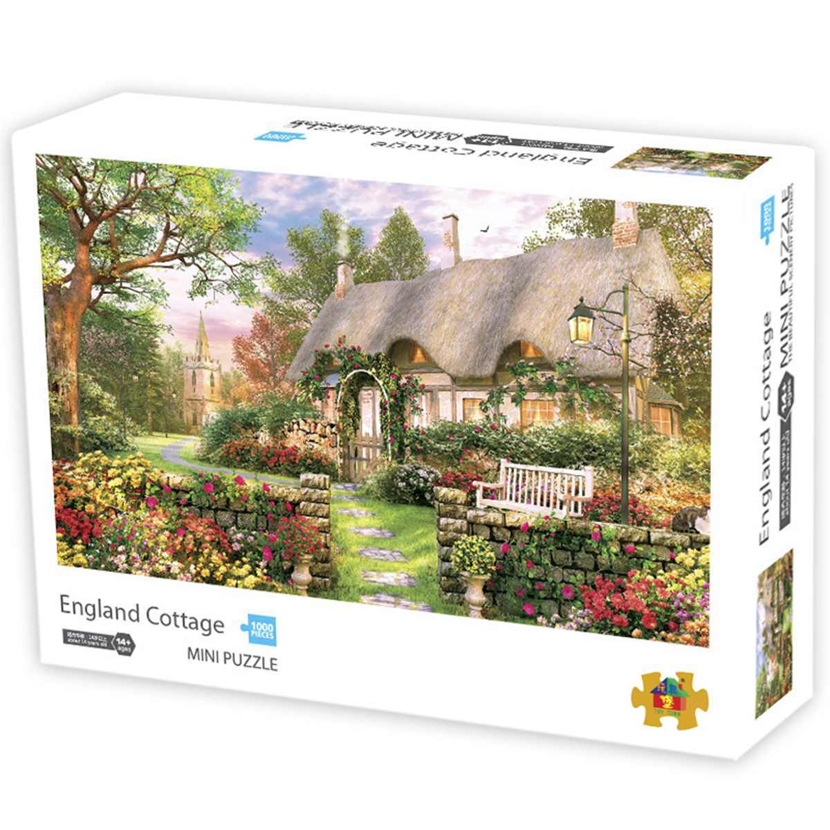 1000 Piece Jigsaw Puzzle for Kids and Adults in Carton Box Mini Polar Impression Puzzle