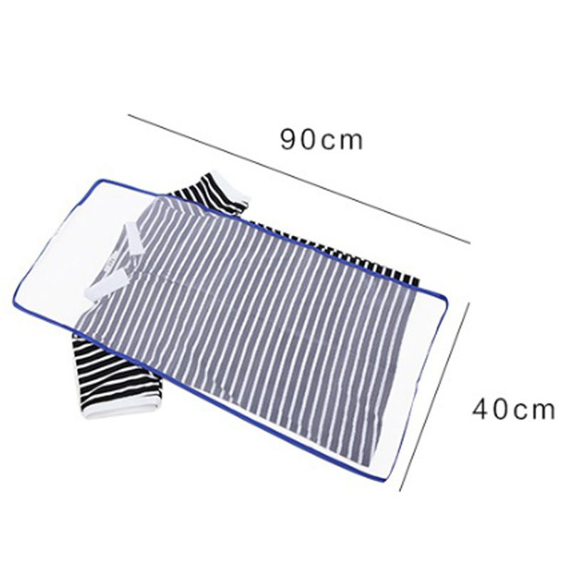 Mesh Ironing Board Mat Insulation Heat Resistant Cloth Mesh Cloth Home Accessories Cloth Cover Protect 40*90CM 1Pcs Ironing Pad image