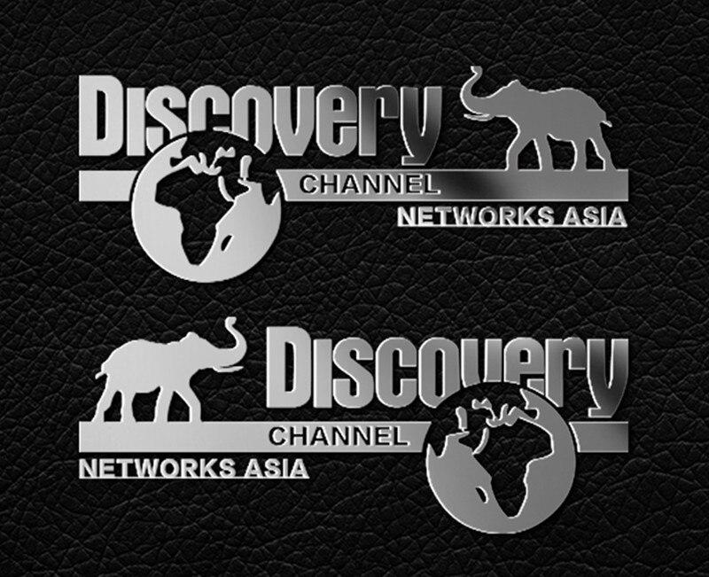 2pcs Metal Sticker Badge Discovery Sticker For 1/10 Rc Crawler Car  Trx4 Defender Bronco Axial Scx10 90046 Wrangler D90 D110