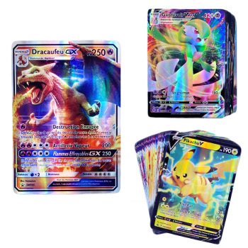 French Version Pokemon Card Featuring 200 Gx 100 Tag Team 110V 40 VMAX