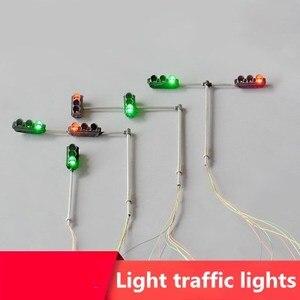Materiały drogowe na szynach, światło drogowe sygnalizacja świetlna LED model