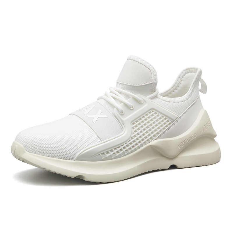 2019 мужская повседневная обувь высокого качества дышащие удобные мужские кроссовки на шнуровке модные базовые увеличивающие рост