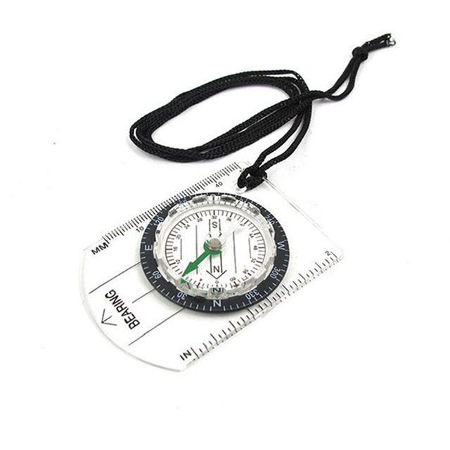 Hot Portable Outdoor  Professional Multi-Functional Compass Refers To The North Needle Map Scale Scale Outdoor Equipment Compass 3