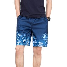 OEAK Men Printed Beach Shorts Quick Dry suit Trunks Beachwea