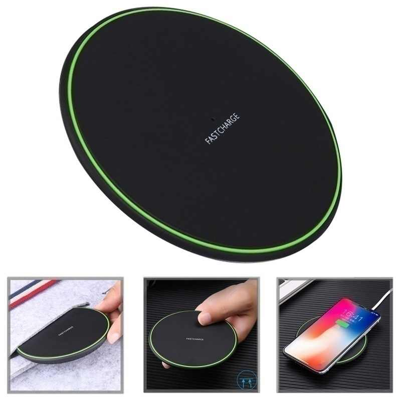 Qi Wireless Charger Cepat Pengisian untuk LG G2 G3 G6 Plus G7 Thinq V30 + V35 V40 Lucid2 Optimus G pro VU2 LTE2 F5 VU3 Spectrum 2