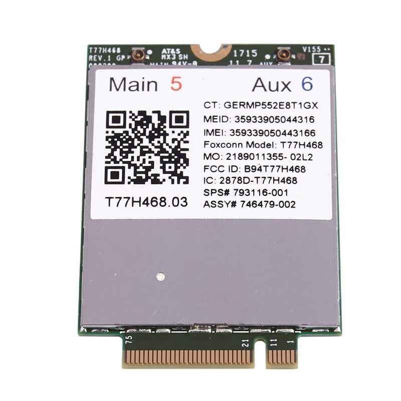 For Hp 840G3 850 15U 745 755 820 G3 T77W595 4G Lte Module (White+Green+Black)