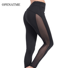 OPENATME Fitness Leggings Yoga Pants Sportswear Stretchy High Waist Running Seamless Workout Women