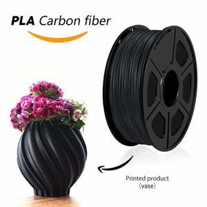 SUNLU лучшие PLA Carbon Fiber 3D-принтеры нити 1,75 мм 1 кг с катушкой для детей DIY Рисование подарок дизайн живопись нити