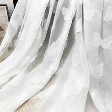 Tissu en mousseline de soie Jacquard 75d papillon, pour vêtements de robe pour femmes, au mètre