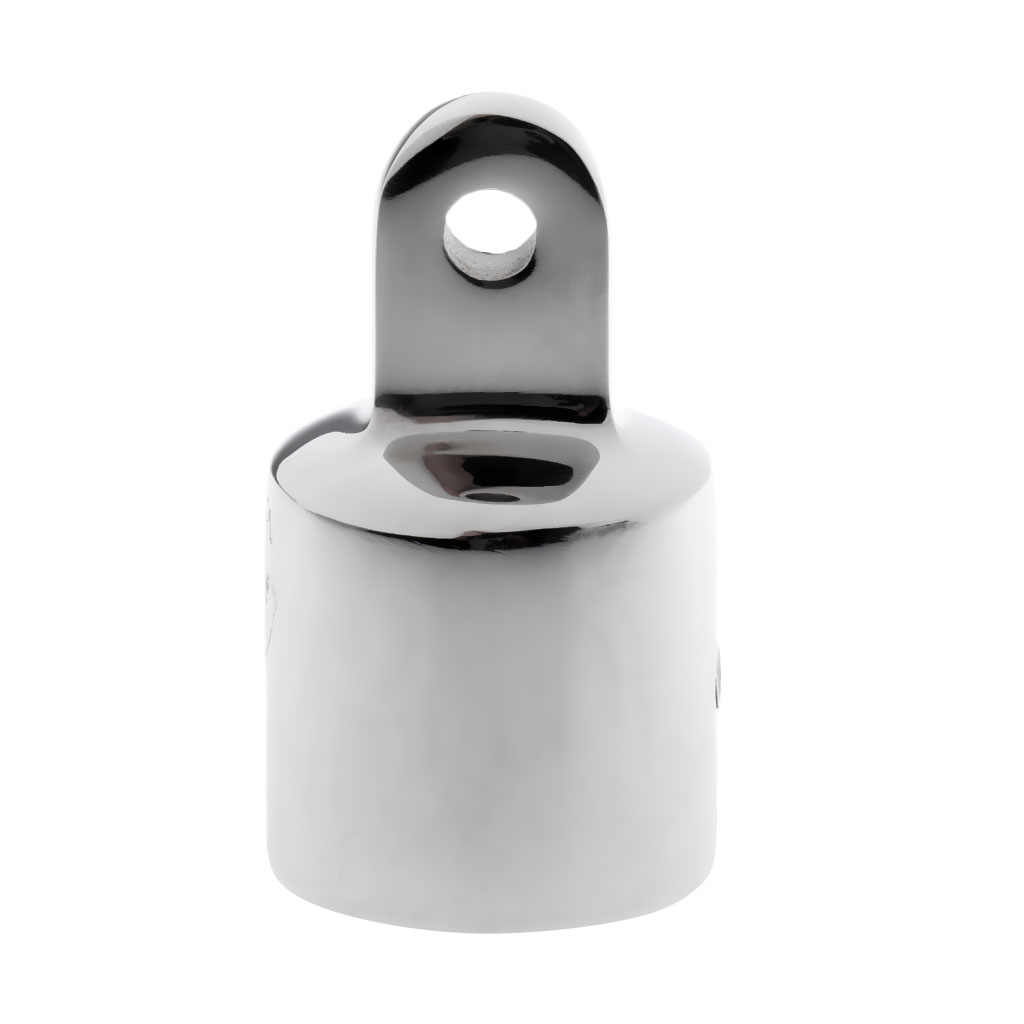 25mm Eye End Cap Bimini Top Fitting Hardware f// Boat 316 Stainless Polished