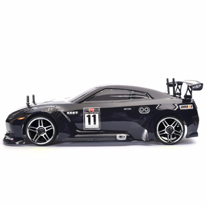 Image 2 - HSP Rc Car 1:10 4wd On Road Rc Drift Car 94123PRO FlyingFish Electric Power Brushless Lipo High Speed Hobby Remote Control Car