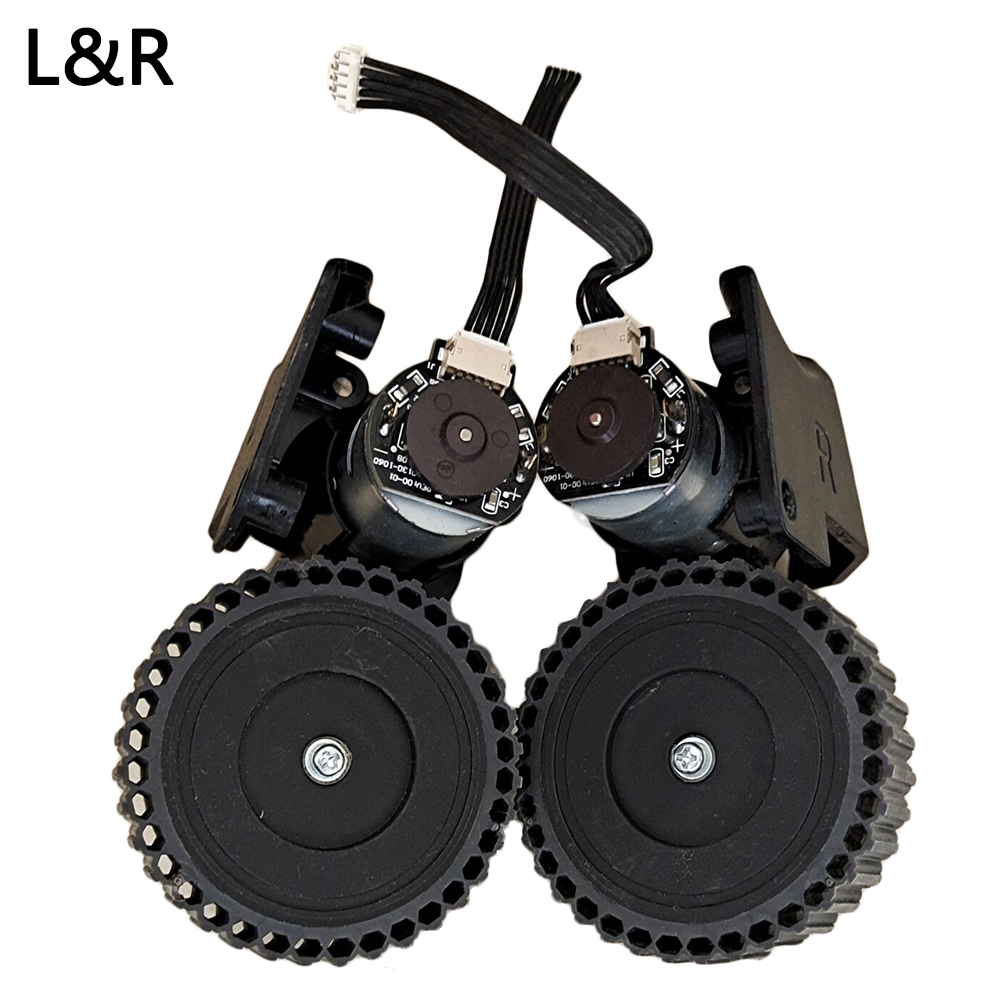 Right Left Wheel For Polaris PVCR 0726 W Robot Vacuum Cleaner Wheel Replacement Home Appliance Parts Accessories