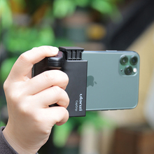Ulanzi CapGrip Smartphone כף יד Selfie מאיץ יד גריפ Bluetooth שלט רחוק טלפון תריס עבור iPhone אנדרואיד טלפון