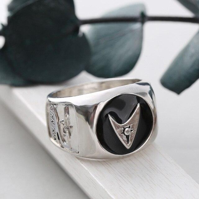 Personnalité argent couleur étoile Trek bague la dernière frontière anniversaire bague classique homme anneau de Starship entreprise bijoux cadeau