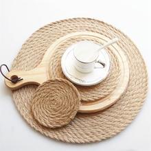 Подставка под тарелку подставки коврики для кухонного стола