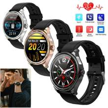 2020 Roundscreen Smart Watch ECG Heart Rate Monitor Sleep Monitor Call Reminder for iPhone Samsung Huawei LG K30 K20 K10(China)