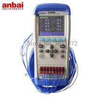 AT4208 Temperatur Daten Logger Display 8 Kanäle