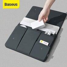 Baseus macbookプロ13 15インチケースタブレットスリーブノートpcカバーmacbook air ordinateursポータブルアクセサリー