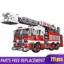 Техника xingbao 03031 город в пожарном грузовике здание спасательная
