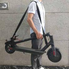 Mango de transporte para patinete Xiaomi Mijia M365, Ninebot ES1 ES2, Scooter Qicycle, Asa de mano, correas de hombro, cinturón