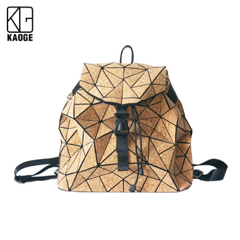 From Portugal Natural Cork Travel Backpack Multifunction Large Capacity handmade bags for women 2020 Shoulder Bags for women