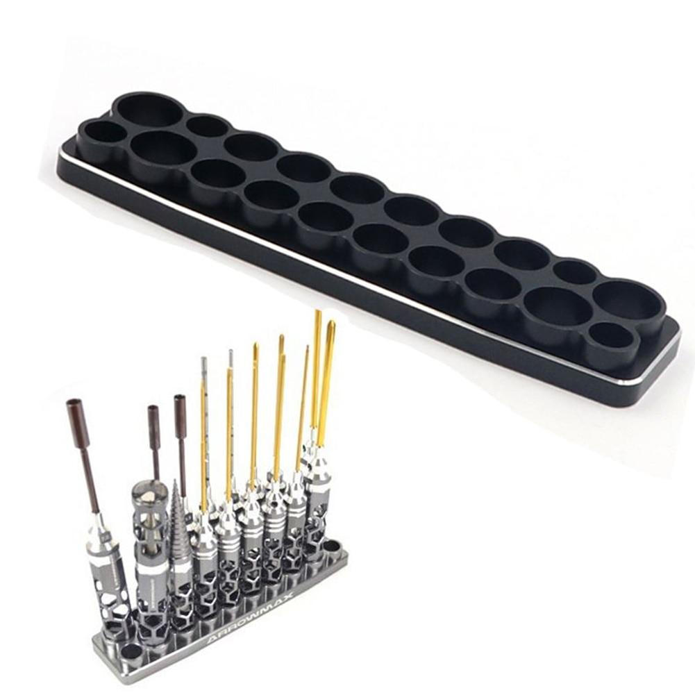 Shelf Repair Practical Accessories Organizer Storage Multifunction Tool Box Screwdriver Set Base Rack Holder Stable Portable