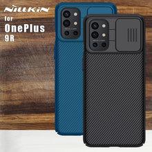 Pokrowiec Nillkin do obudowy OnePlus 9R pokrowiec NA aparat ochronny Camshiled futerały ochronne do OnePlus 9R 9 Pro 5G (EU NA) (w CN) tanie tanio CN (pochodzenie) Half-wrapped Case Nillkin case Zwykły