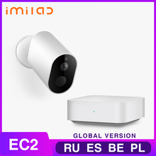 Home Camera IMILAB EC2 Wireless Outdoor Security Camera 1080P Rechargeable Battery WiFi Camera Indoor/Outdoor Surveillance