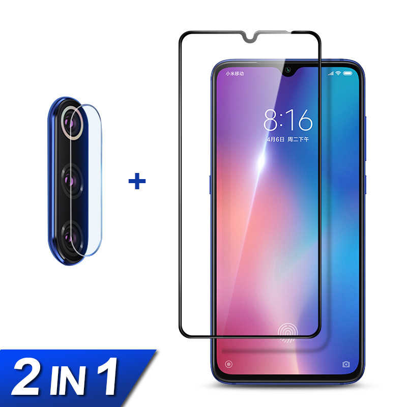 2-in-1 <font><b>Camera</b></font> Lens Flim+Tempered Glass For <font><b>Xiaomi</b></font> mi 9 9t Pro 9se Screen <font><b>Protector</b></font> For <font><b>Xiaomi</b></font> <font><b>mi9</b></font> mi9t <font><b>mi9</b></font> se Protective Glass image