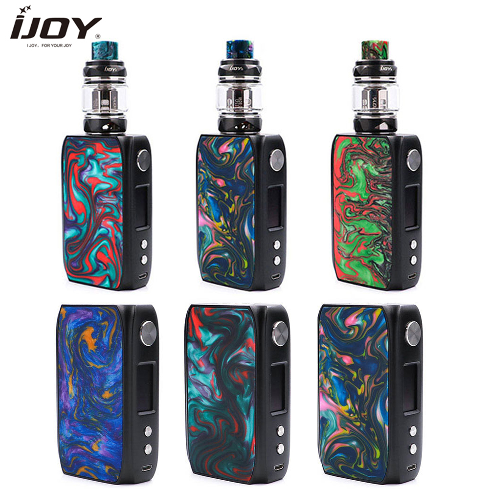 Original ijoy shogun univ kit 180w e cigarro mod e 5.5 ml/4 ml katana subohm tanque vs arrastar 2 mod ijoy shogun vape kit