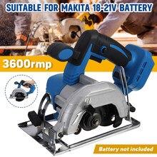 1200W 150mm sierra Circular eléctrica de inmersión pista cortar madera/Metal cortador de azulejos sierra eléctrica de herramienta de poder para Makita batería de 18V